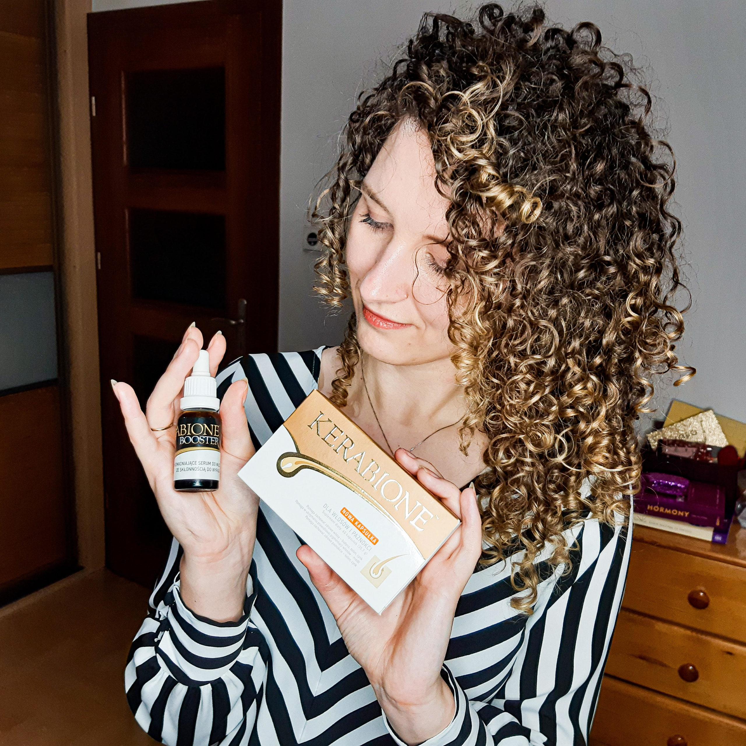 Suplement i serum przeciw wypadaniu włosów kerabione – recenzja