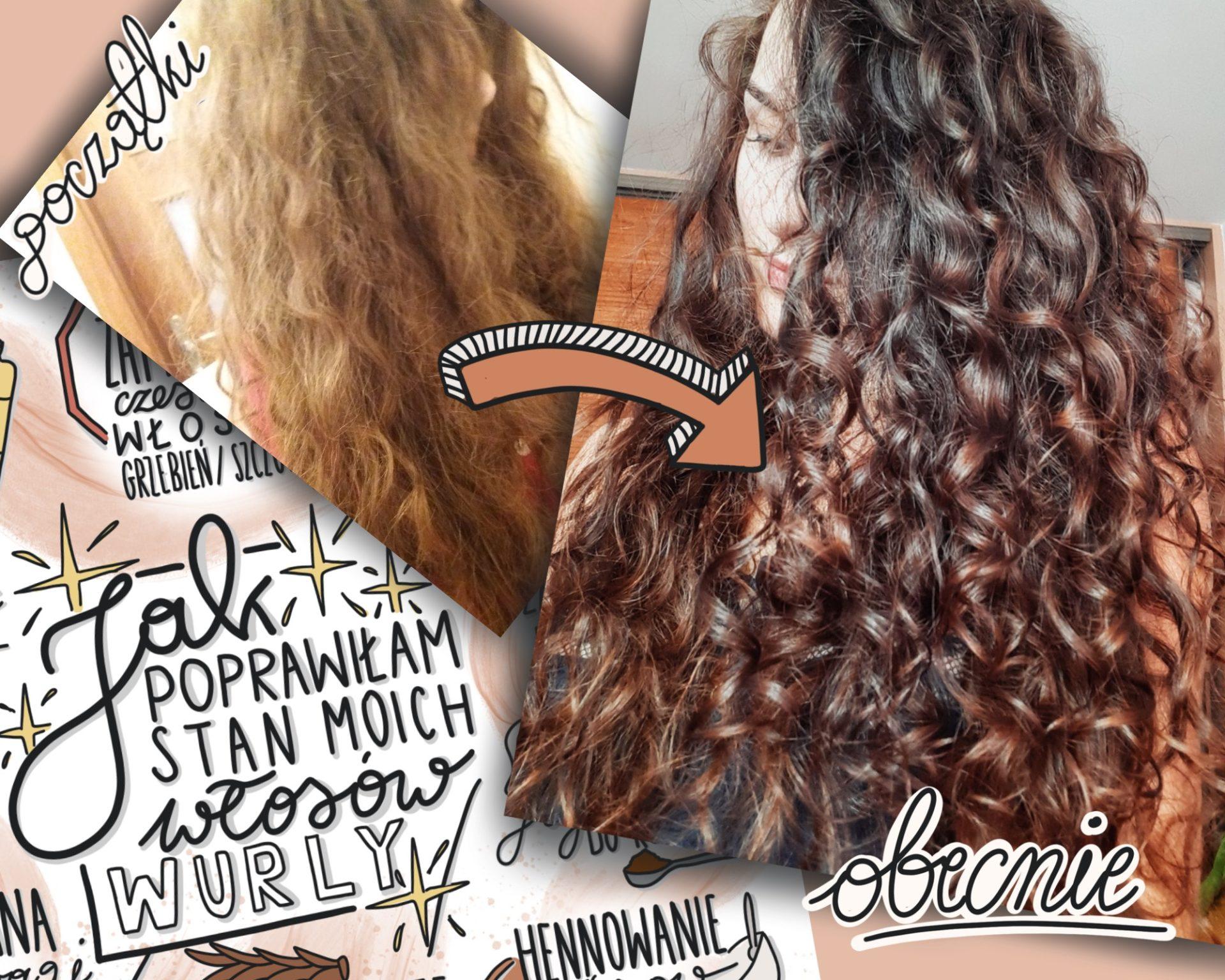 Jak poprawiłam stan moich włosów? – wurly.