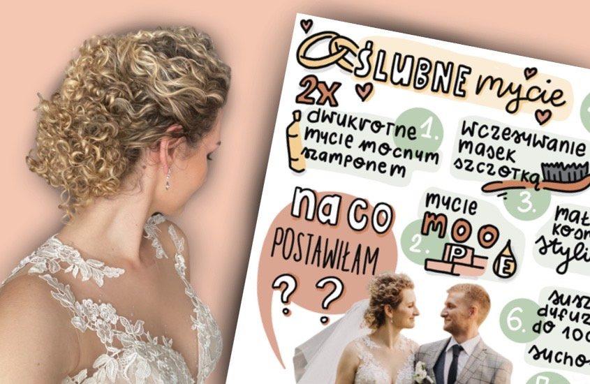 Jak przygotować kręcone włosy do ślubu?